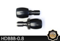 KAOKO Cruise Control for Harley Davidson 1.5 inch handlebars - Black Barrel shape