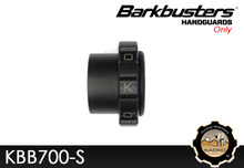 KAOKO Motorcycle Throttle Stabilzers for BMW F800GS , F800R, F650GS Twin ('08-12) for use with Barkbusters BHG32 - VPS & Storm Hand guards