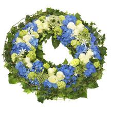 Premium sympathy wreath swedish nationwide delivery.