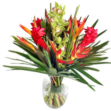 Exotic tropical flowers for delivery in Sweden.