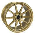 Enkei TS10 18x8 5x100 45mm Gold Wheel - 499-880-8045GG