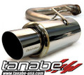 Tanabe Medallion Concept G Axleback Exhaust for 05-10 Scion tC - T80106A