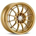 Enkei NT03+M 18x9.5 5x100 40mm Gold Wheel - 3658958040GG