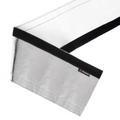 "Mishimoto 1""x36"" Silver Heat Shielding Sleeve - MMHP-HSS-136SL"