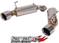 Tanabe Medallion Touring Axleback Exhaust  for 08-13 G37 Coupe RWD 14-16 Q60