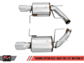 AWE Touring Edition Axle-back Exhaust Chrome Silver Tips for S197 Mustang GT