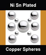 Copper Core Solder Spheres