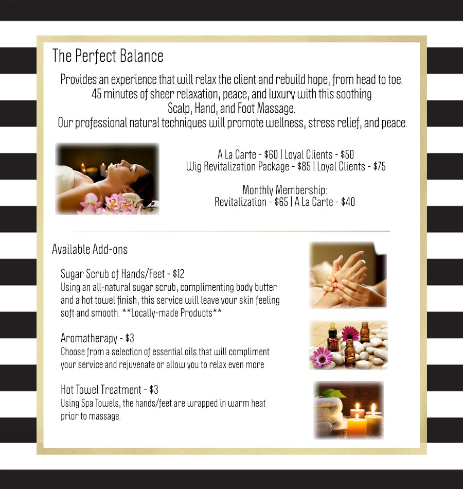 Perfect Balance massage services
