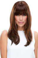 easiFringe | Remy Human Hair Clip In Bangs (Mono Base)