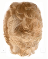 Playmate Curly | Synthetic Hair Topper | DISCONTINUED
