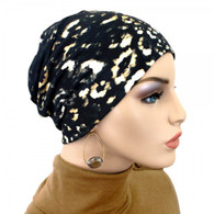 CHARCOAL TIE DYE ACTIVITY CHEMO CAP