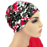 FLORAL CAMOUFLAGE ACTIVITY CHEMO CAP