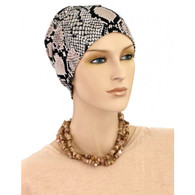 ANIMAL PRINT ACTIVITY CHEMO CAP