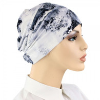 BLACK SPLASH ACTIVITY CHEMO CAP