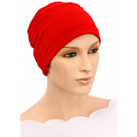 RED CHEMO CAP