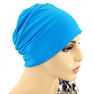 BLUE ACTIVITY CHEMO HEAD CAP