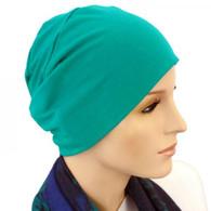 TEAL CHEMO CAP