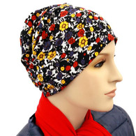 CARNATIONS ACTIVITY CHEMO CAP