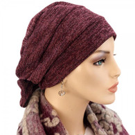 BURGUNDY SPARKLING TWO WAY CAP