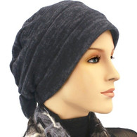CHARCOAL SOFT TWO WAY CAP