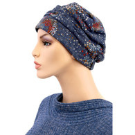 GALAXY SHIRRED CAP TURBAN