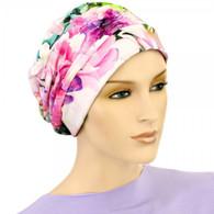 SUMMER SHIRRED CAP TURBAN HAT