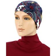 FLAPPER HAT WITH FLOWER - ITALIAN BEAUTY
