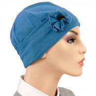 DENIM FLAPPER HAT