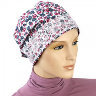 LITTLE ROSES SLEEP CAP - CHEMO NIGHT CAP