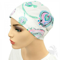 PAISLEY ACCENT SLEEP CAP