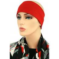 COTTON RED HEADBAND