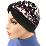 TWO TONE MULTI GEO BASIC TURBAN