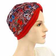 ORNAMENTS TWO TONE ITALIAN FASHION TURBAN
