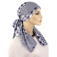 100% COTTON CALYPSO HEADSCARF MIX OF CHECKS