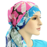 FLOWER POT CALYPSO EXCLUSIVE SCARF