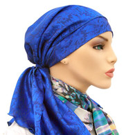 ROYAL JACQURD EXCLUSIVE CALYPSO HEADSCARF