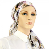 FLORAL SILK HEADSCARF EXCLUSIVE CALYPSO
