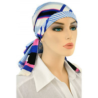 PINK LINES CALYPSO EXCLUSIVE HEADSCARF