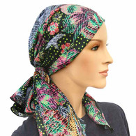 FALL BEAUTY CALYPSO EXCLUSIVE HEADSCARF 100% SILK