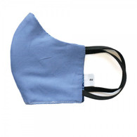 KIDS COTTON FACE PROTECTION MASK -BLUE NAVY - SMALL
