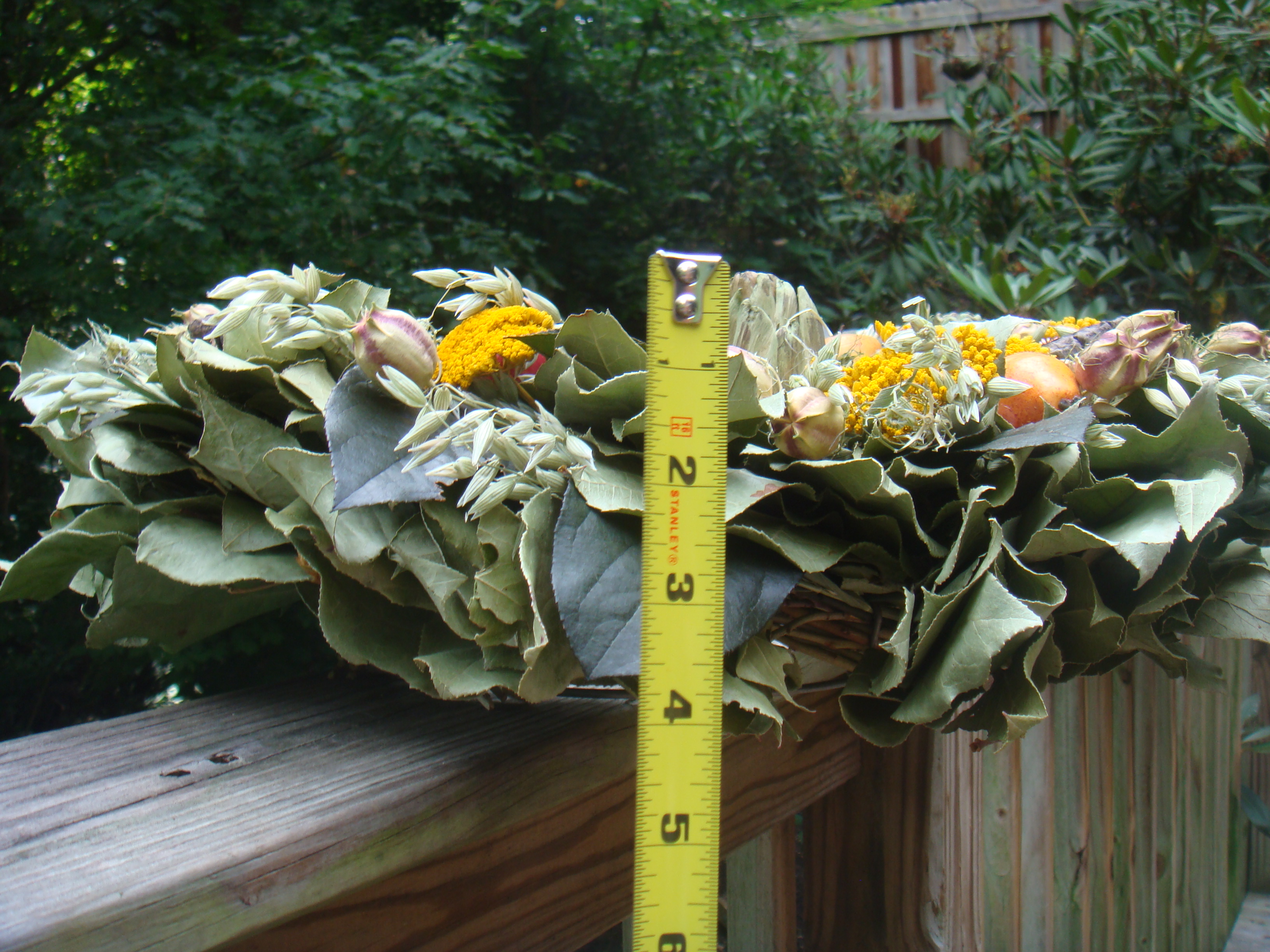 How To Measure A Wreath The Wreath Depot