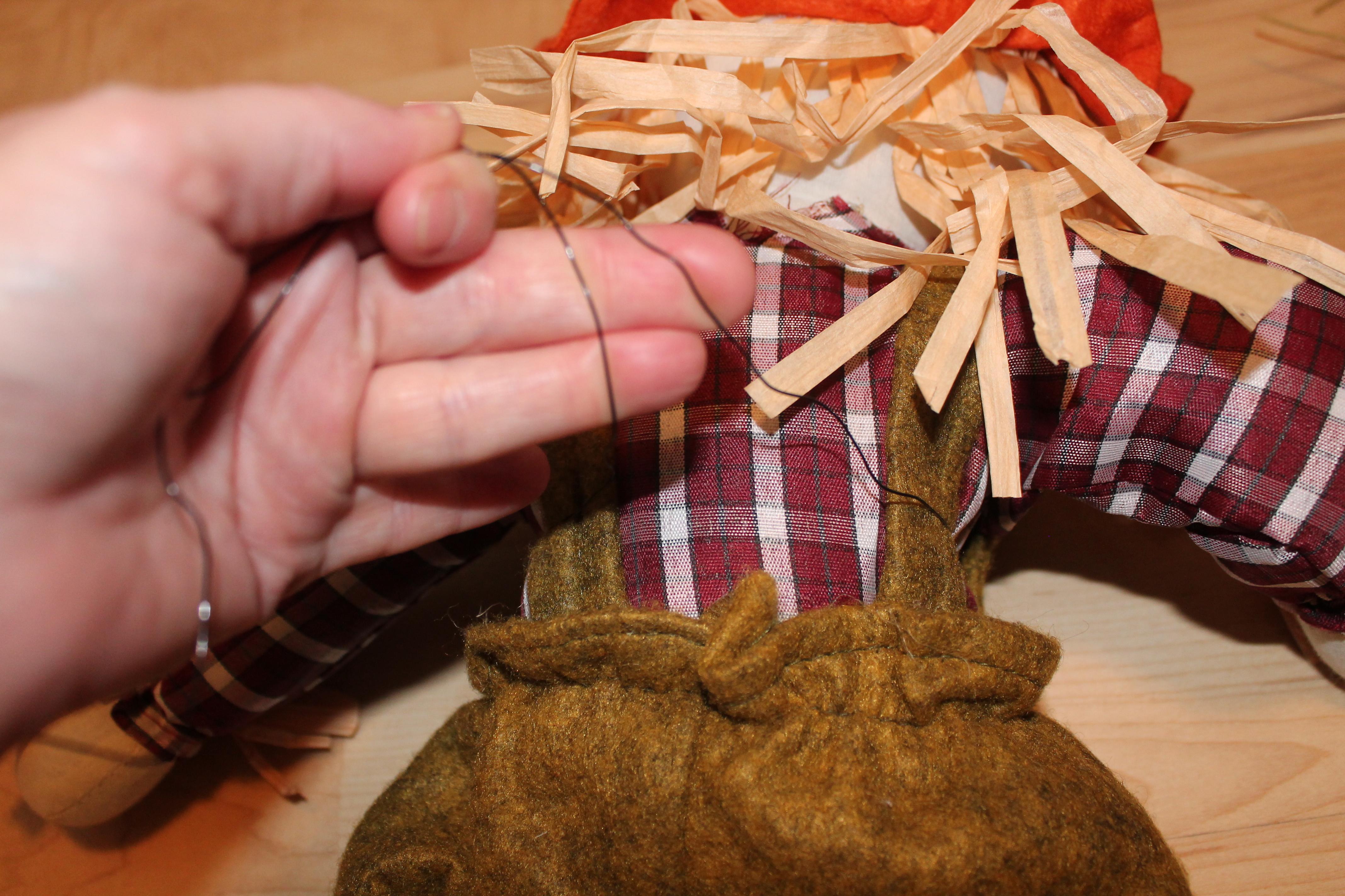 Diy Burlap Wreath Quot Scarecrow Pumpkin Quot The Wreath Depot