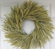 Artisan Mixed Grains Wreath - 19 in (Indoor)