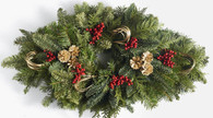 Ashburn Christmas Holiday Centerpiece - 27 inch