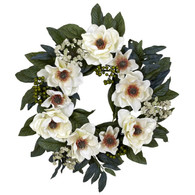 Charlotte Magnolia Door Wreath 22 inch
