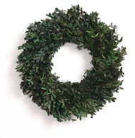 Christines Cottage Boxwood Wreath - 18 inch
