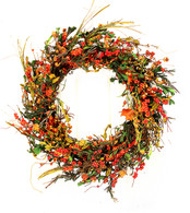 Gianna Fall Silk Door Wreath 22 inch