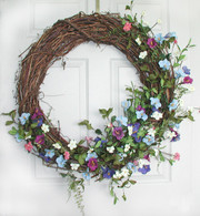 Glorious Morning Door Wreath - 30 in