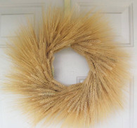 Golden Fields of Wheat Wreath 19 in