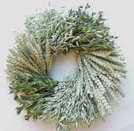 Great Plains Dried Wreath - 22 inch